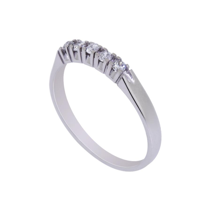 Σειρέ λευκόχρυσο δαχτυλίδι 14Κ 2802714f5f0